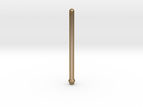 Part 2 Snake Necklace Wine Bottle Opener Rod  in Polished Gold Steel