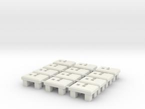 Concrete base for a signal in White Natural Versatile Plastic