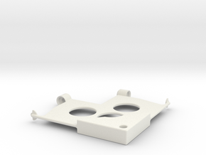 Converting Sharpe Holder V1 in White Natural Versatile Plastic