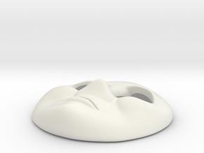 HO Bill & Ben Face #5 - Sad in White Natural Versatile Plastic