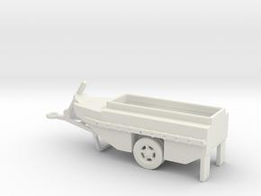 1/144 Scale WCTC-6 Amphibious Trailer in White Natural Versatile Plastic