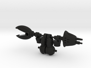 Crank Gouge Articulated Arms in Black Natural Versatile Plastic
