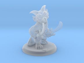 Kobold Party 01: Fighter (with base) in Smoothest Fine Detail Plastic