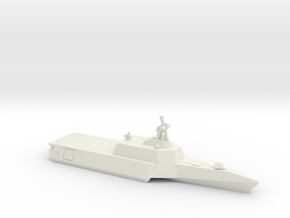 Independence-class LCS, 1/1800 in White Natural Versatile Plastic
