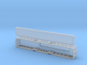The Queen of Swedens railway wagon 1891 – N-scale in Smooth Fine Detail Plastic