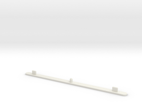Animation Peg Bar in White Natural Versatile Plastic