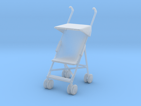 Stroller 1/35 in Smooth Fine Detail Plastic