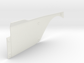 Vanquish Ripper RIGHT Side Panel by SuperShafty in White Natural Versatile Plastic