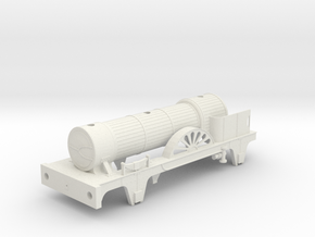 Jenny Lind 7mm scale in White Natural Versatile Plastic