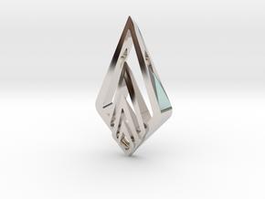 """Hidden Heart"" SHINE, pendant in Platinum"