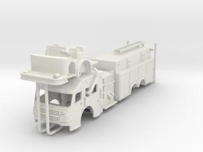1/87 Rosenbauer Pumper Tanker UPDATED in White Natural Versatile Plastic