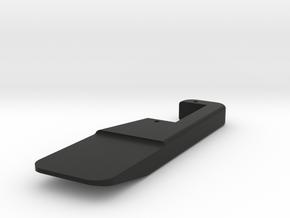 Micro Magic nano SERVOPLATE 20 mm x 9 mm in Black Natural Versatile Plastic