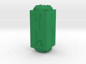 D_stick -Elvish in Green Processed Versatile Plastic: d4