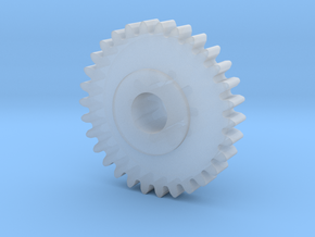 Replacement Floppy Drive Gear for Macintosh Comput in Smooth Fine Detail Plastic: Small