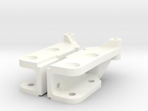 041002-01 Tamiya Frog Inner Arm Mount in White Processed Versatile Plastic