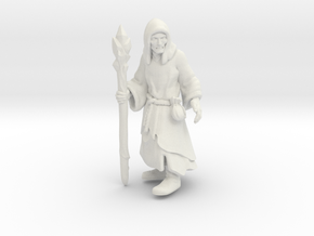 Old Necromancer in White Natural Versatile Plastic