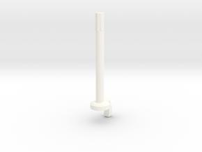 Lancia Delta Trip counter reset pin in White Processed Versatile Plastic