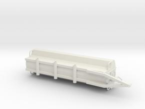 GEA Houle 7300 gallon flow meter and dump basket in White Natural Versatile Plastic