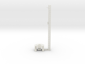 1/144 Scale Vanguard Launch Tower in White Natural Versatile Plastic