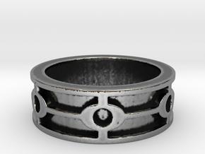 Hideyoshi (Size 10.5) in Antique Silver