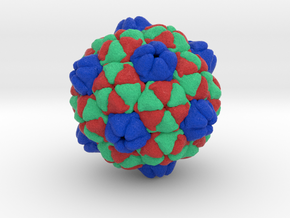 P. furiosus Virus-Like Particle in Natural Full Color Sandstone: Small