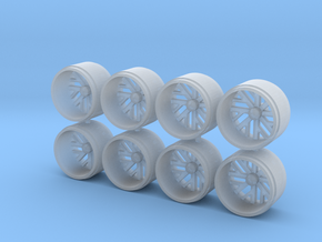 1\64 scale wheel in Smoothest Fine Detail Plastic