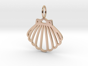 SEA SHELL in 14k Rose Gold