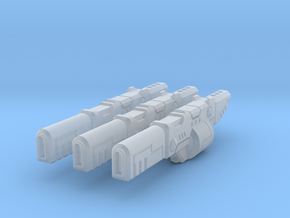 High Yield Ion Rifles x3 in Smooth Fine Detail Plastic
