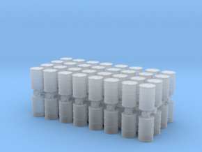 Oil Barrel (x64) 1/200 in Smooth Fine Detail Plastic