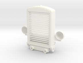 THM 80.701000 Grill Peterbilt 281 in White Processed Versatile Plastic