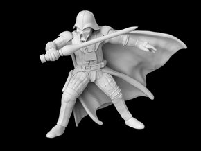 "(Legion) Darth Vader ""Concept Art"" in Smooth Fine Detail Plastic"