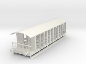 o-32-corringham-toastrack-coach in White Natural Versatile Plastic