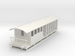 o-32-corringham-toastrack-composite-coach in White Natural Versatile Plastic