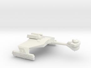 3788 Scale Klingon D5L War Cruiser Leader WEM in White Natural Versatile Plastic