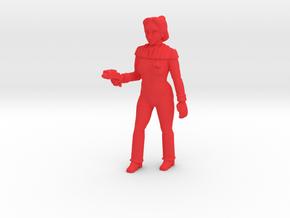 Fleet Captain Princess Shaye in Red Processed Versatile Plastic