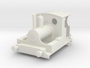 b-100-kitson-0-4-0wt-loco in White Natural Versatile Plastic