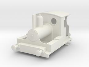 b-43-kitson-0-4-0wt-loco in White Natural Versatile Plastic