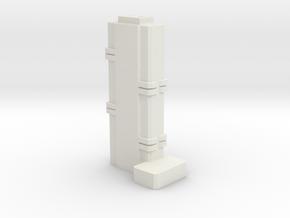 Atelier - New York (1:4000) in White Natural Versatile Plastic