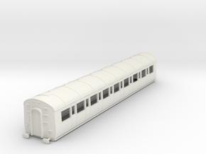 o-76-gwr-c54-third-class-coach in White Natural Versatile Plastic