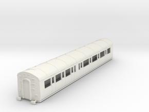 o-87-gwr-e127-rh-comp-coach in White Natural Versatile Plastic