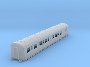 o-148fs-gwr-e128-rh-brake-comp-coach in Smooth Fine Detail Plastic