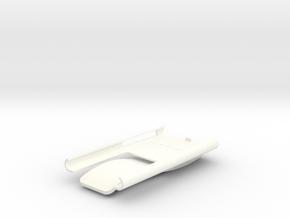 iPod Nano Clip in White Processed Versatile Plastic