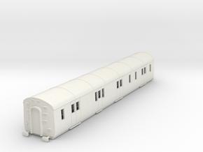 o-76-gwr-k38-passenger-brake-van in White Natural Versatile Plastic