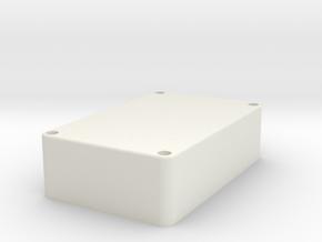 Wifi Antenna Cover Rev04 in White Natural Versatile Plastic