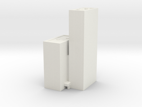 Michigan Plaza - Chicago (1:4000) in White Natural Versatile Plastic