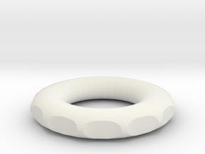 small rodin marko coil for wrapping DIY 6 cm 2.36  in White Natural Versatile Plastic