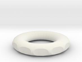 rodin marko coil pendant 20x20x 3.5mm in White Natural Versatile Plastic