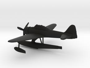 Nakajima A6M2-N Rufe in Black Natural Versatile Plastic: 1:144
