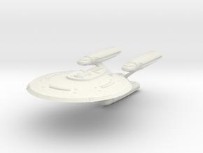 "Niagara Class Cruiser 2.6"" in White Natural Versatile Plastic"