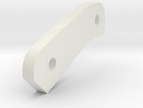 P-Hard B 3mm Spacer in White Natural Versatile Plastic